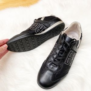 BIKKEMBERGS Men's Leather Casual Shoes